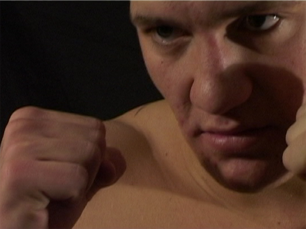 Young Conor Mcgregor posing for the camera in 2008. Archive video footage collection, The Irish MMA Tapes